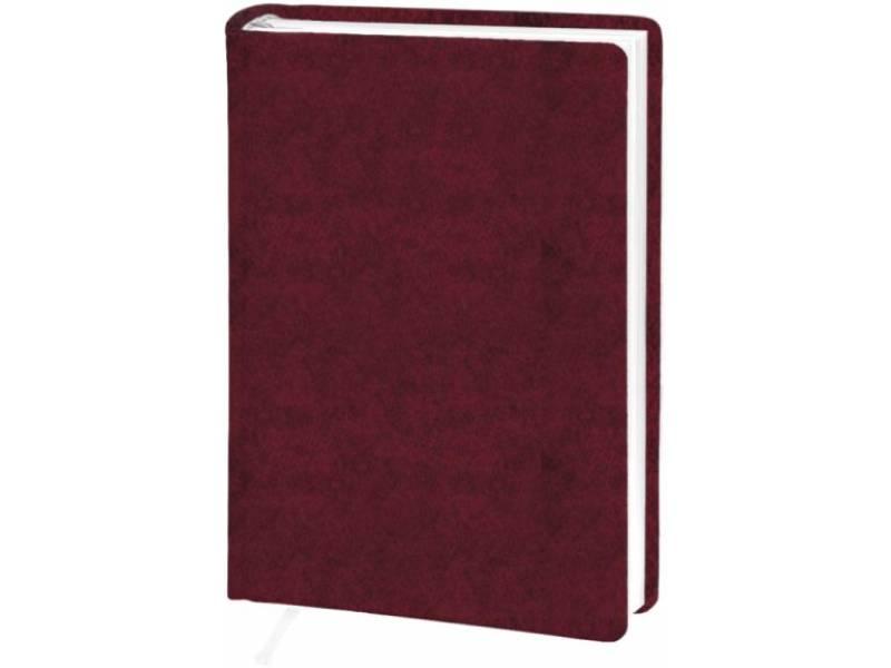 Діловий щоденник Поліграфіст А6 В237 баладек ARIANE, бордо клітинка