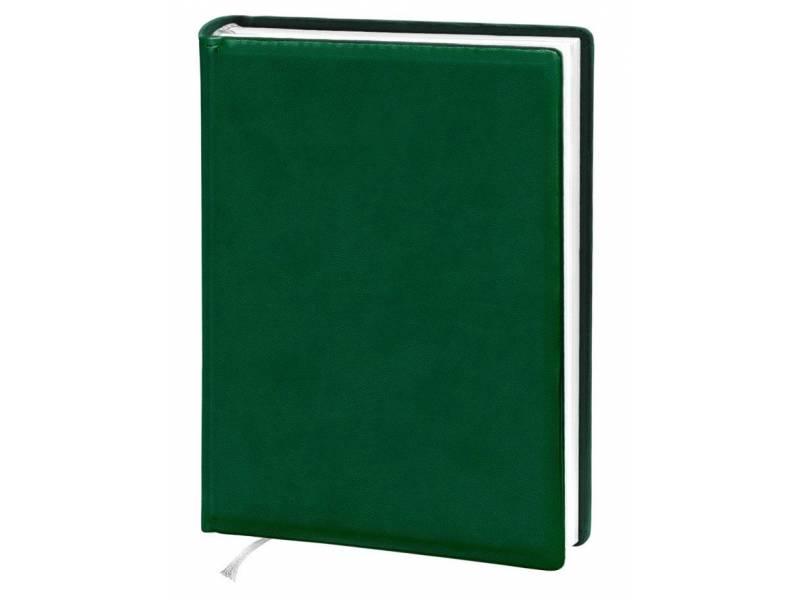 Діловий щоденник Поліграфіст А5 В241 шт.шкіра VIVELLA, зелений лінія