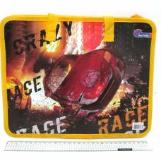 VL 26*32см з ручками (для альбому,зошитів, щоденника) CRAZY RACE