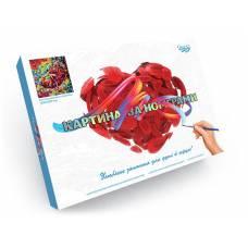 *картина за номерами Danko Toys LUX ТАНЦІВНИЦЯ в коробці 400*500мм