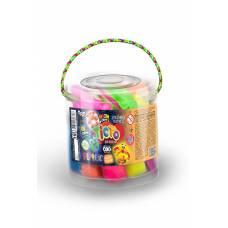 пластилінове тісто Danko Toys FLUORIC 18 кол.