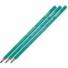 Олівець графітний 4Office пластиковий HB зелений корпус, без гумки