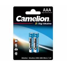 Елемент живлення alkaline Camelion DIGI LR03 (1*2)