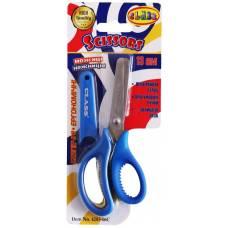 Ножиці дитячі Class 133мм з прогумованими ручками в чохлі, сині